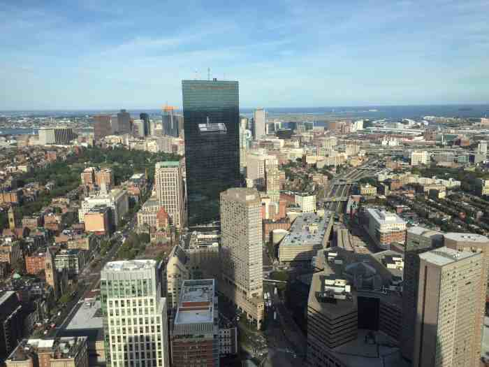 Skywalk Prudential Tower View