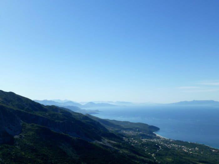 best european road trips, albanian coast