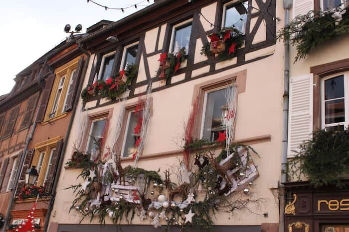 streets of the Alsace region