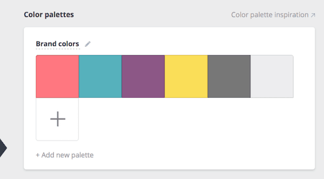 Canva for Business Brand Colors