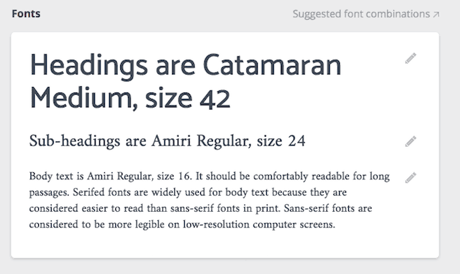 Canva for Business fonts