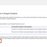 Adding Google search console to Google analytics
