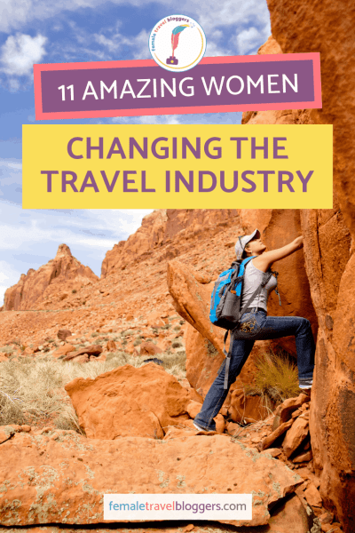 Are you looking for some amazing women in the travel industry to support? We made a list of 11 female owned travel businesses that are making the travel industry a better place for wanderlust filled women. Come see which awesome travel businesses owned by women we chose to feature and tell us who your favorite ones are. Don't forget to save this to your travel board so you can find it later! #femaleowned #travel