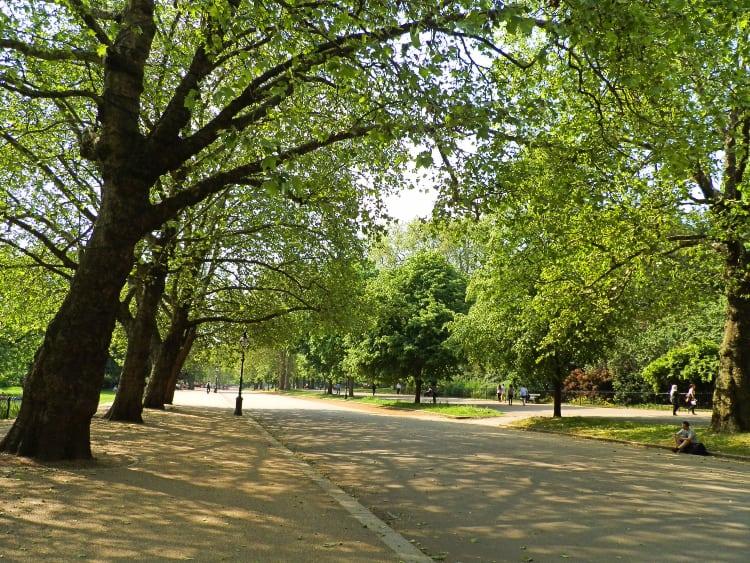 Hyde Park London best photography spot