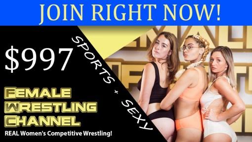 Legacy Membership Buy Women's Wrestling