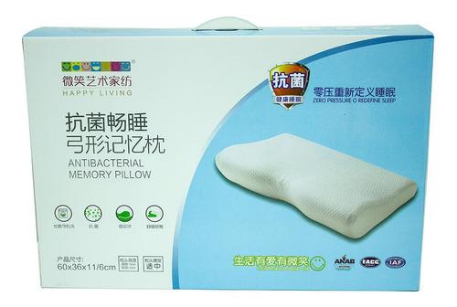 almohada viscoelastica con memoria cervical