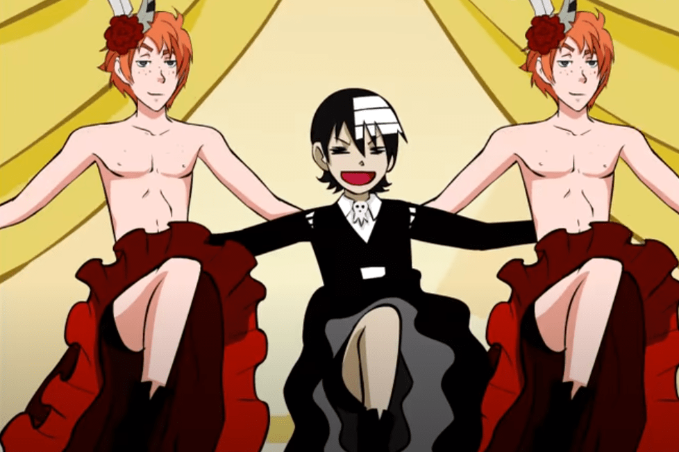 Anime Munters by go devil dante - Fred et George Weasley Harry Potter - Death the Kid Soul Eater