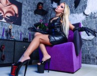 Hot Blond Dominatrix