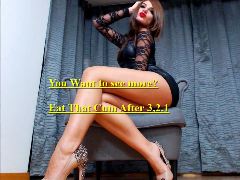 Mistress give gay instruction