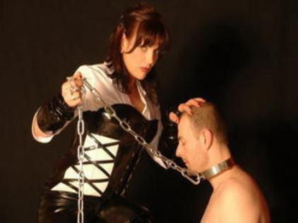 slave collared on cam