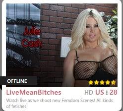 mean bitches, bondage cams