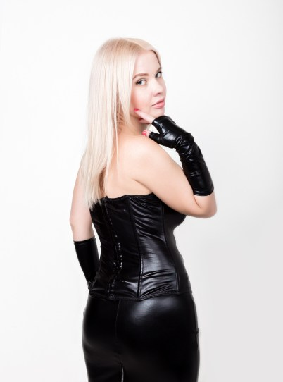 blonde bdsm mistress