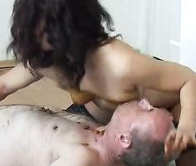 Hot Black Cock Slutty Wife Enjoying Sex With Hobo