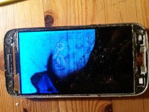 Smartphone-Display zeigt kein Bild mehr