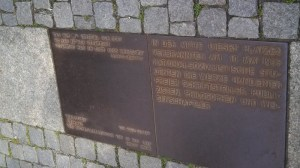 Heinrich Heine Quote in the State Opera Square
