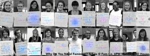 """The Colorado College """"I Need Feminism"""" Campaign Launched by FemCo in October 2012"""
