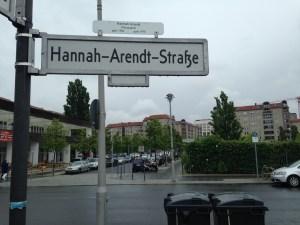 Hannah Arendt Straße
