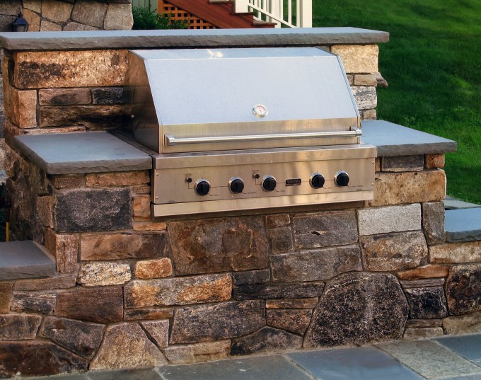 CustomBuilt Grills  Outdoor Kitchens  Femia Landscaping