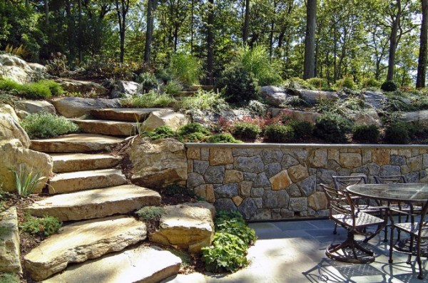 natural boulder step creations