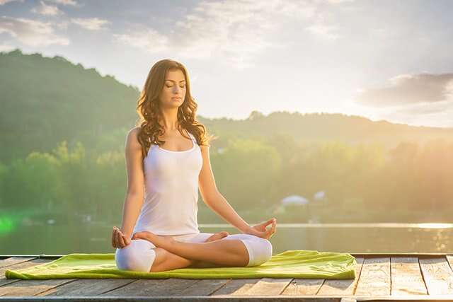 Yoga and Calming Exercise To Lose Belly Fat