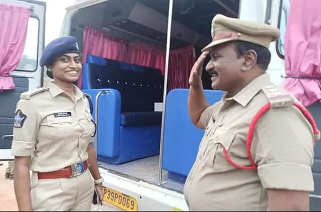 Father DSP Salute