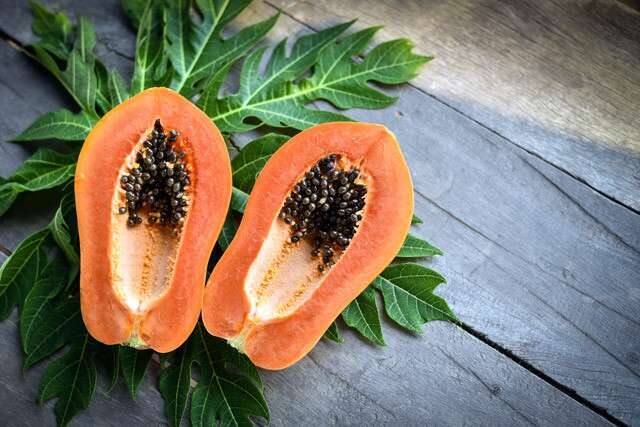 Papaya To Get Smooth Skin