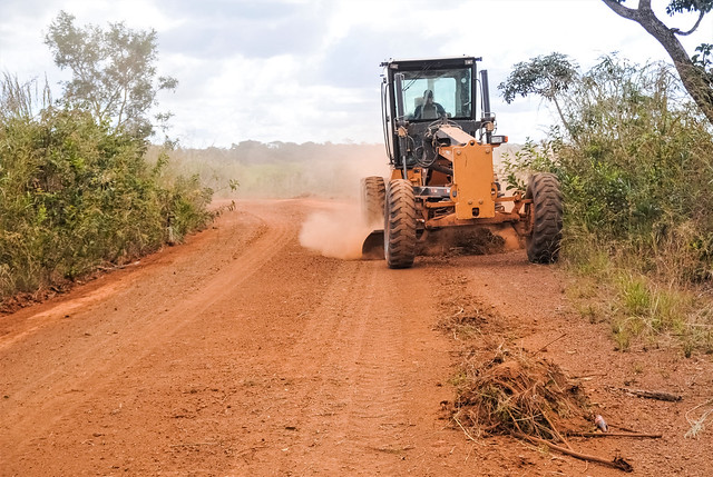 Mais 15 quilômetros de estradas rurais recuperadas