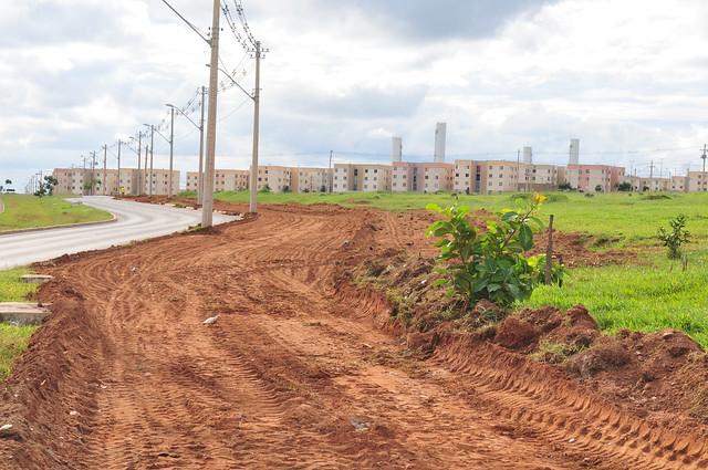 Paranoá vai ganhar mais 400 metros de calçadas