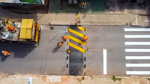 Segurança: quebra-molas são instalados em Sobradinho ll