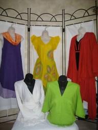 les vêtements inspirés de Sandrine