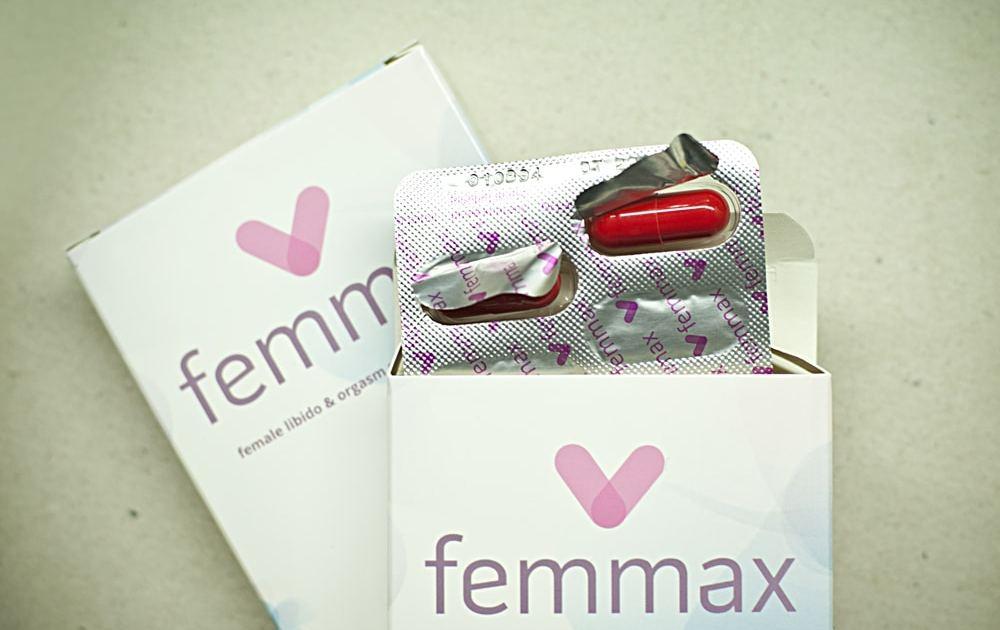 Das Produkt, das für die Femmax Erfahrung zum Kauf angeboten wurde