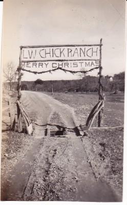Chick Ranch 1937