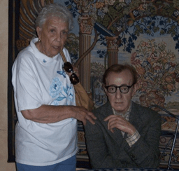 Alexandria Kalchuk Frahm & Woody Allen circa 2007