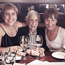 Three generations and one last date. January 2015