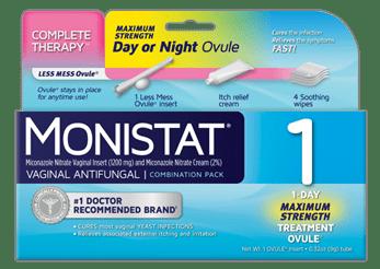Monistat Vaginal Antifungal Medication 1 Full Review ...
