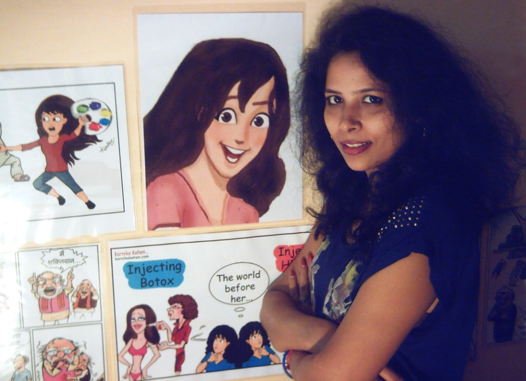 Kanika Mishra: Spearheading India's First Cartoon Woman Karnika Kahen