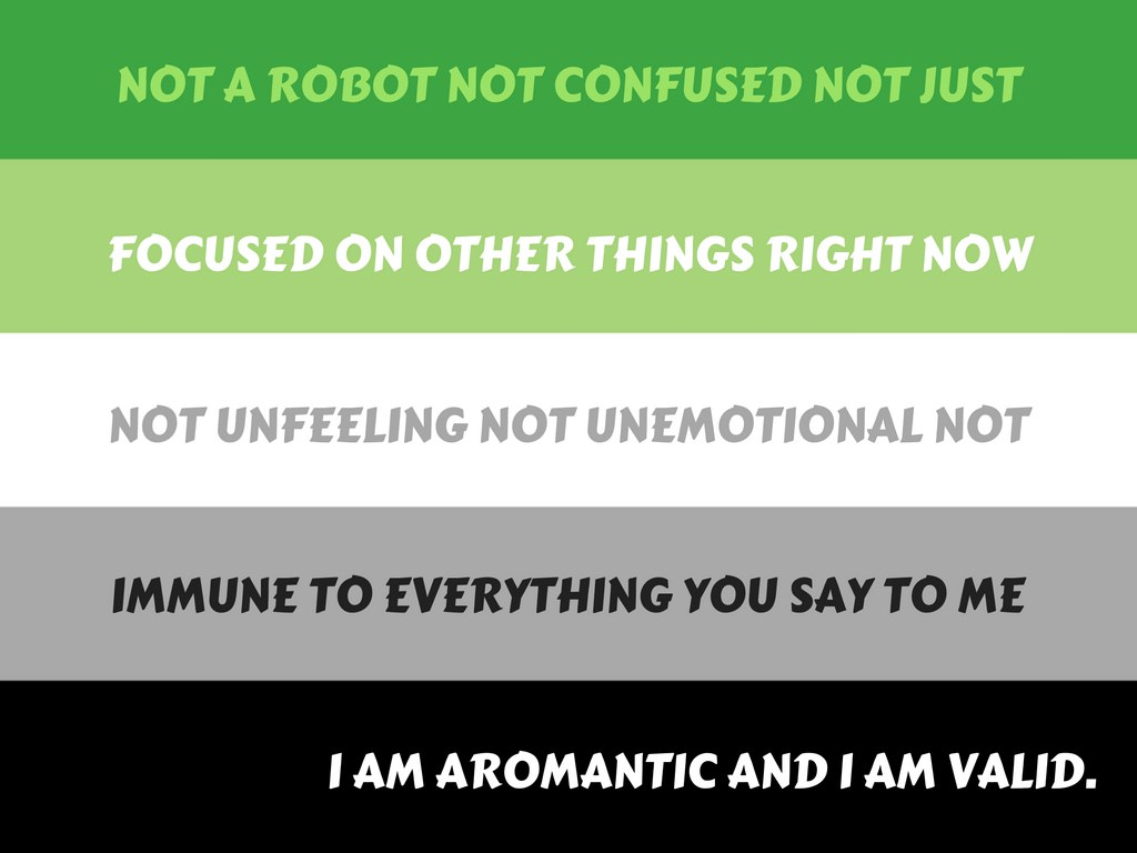 What is a aromantic asexual