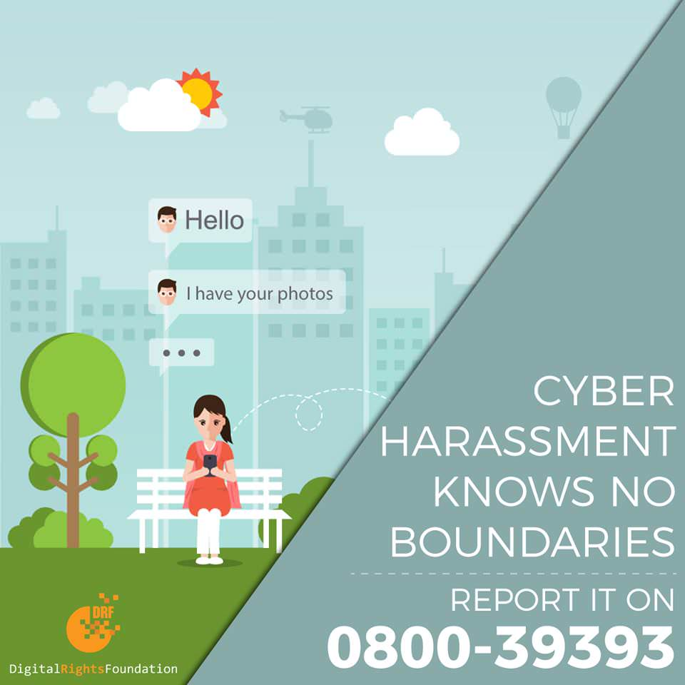 Digital Rights Foundation Launches Pakistan's First Ever Cyber Harassment Helpline