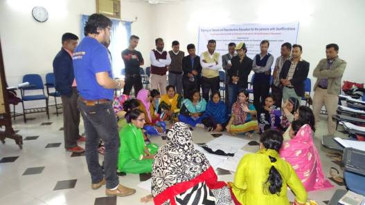 Deafblindness Workshop On Sexuality