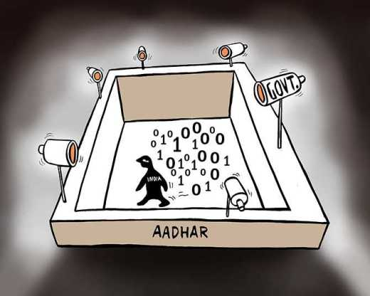 Image result for aadhaar cartoon