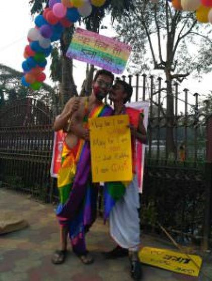 Xukia at the Pride Walk