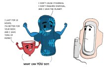 Comic: The Alternative Menstruation Superheroes | #ThePadEffect