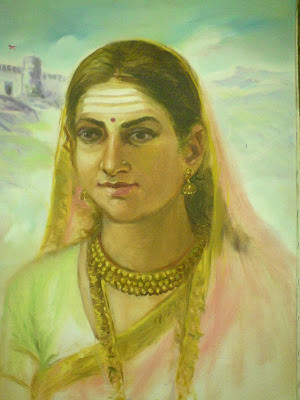 Kittur Chennamma in her youth