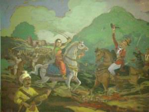Killing of St. Thackeray at Kittur