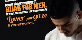 The Quran Prescribes Hijab For Men, But Of Course We Only Focus On Women