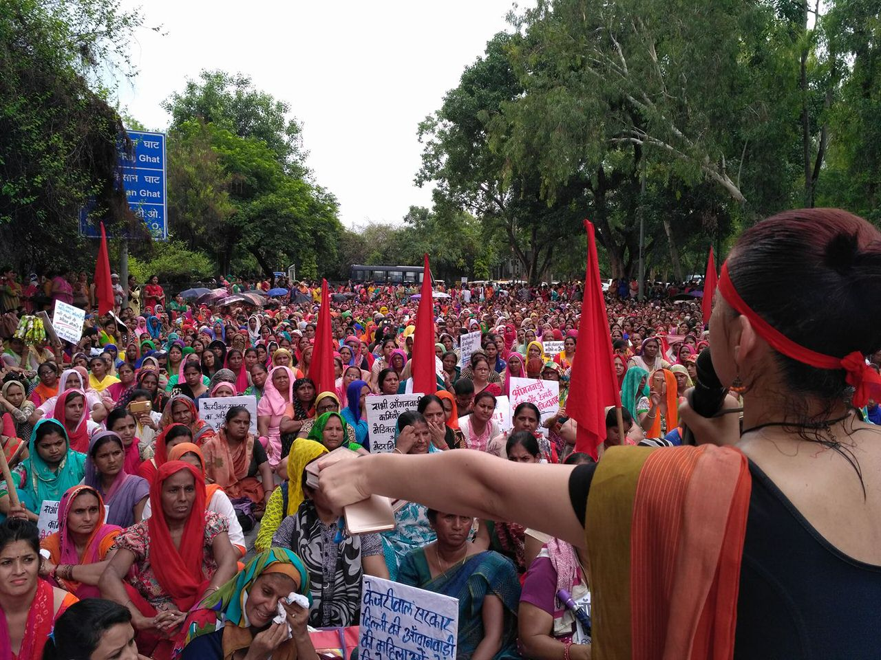 Anganwadi Workers Protest Against Abysmal Wages | Feminism in India