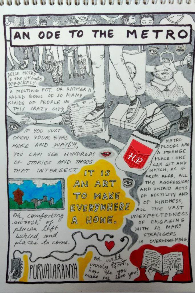 Doodle Pockets by Purvai Aranya