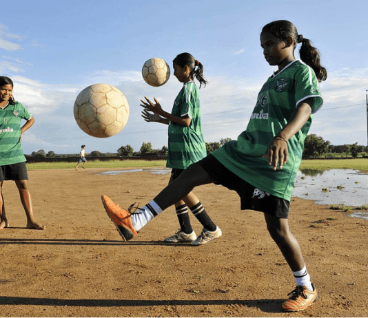 girls development through sports