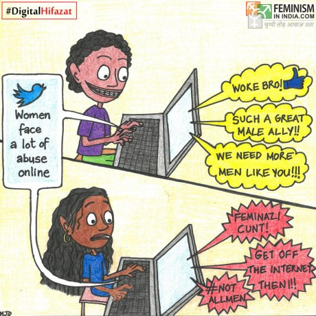 What happens when men and women post about the EXACT same thing? #DigitalHifazat