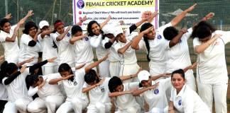 Female Cricket